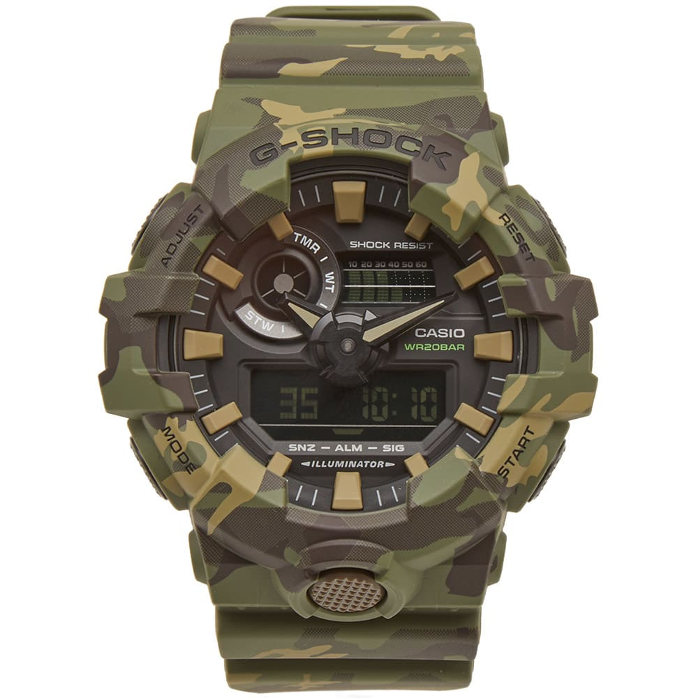 Photo: Casio G-Shock GA-700CM-3AER Camo Watch
