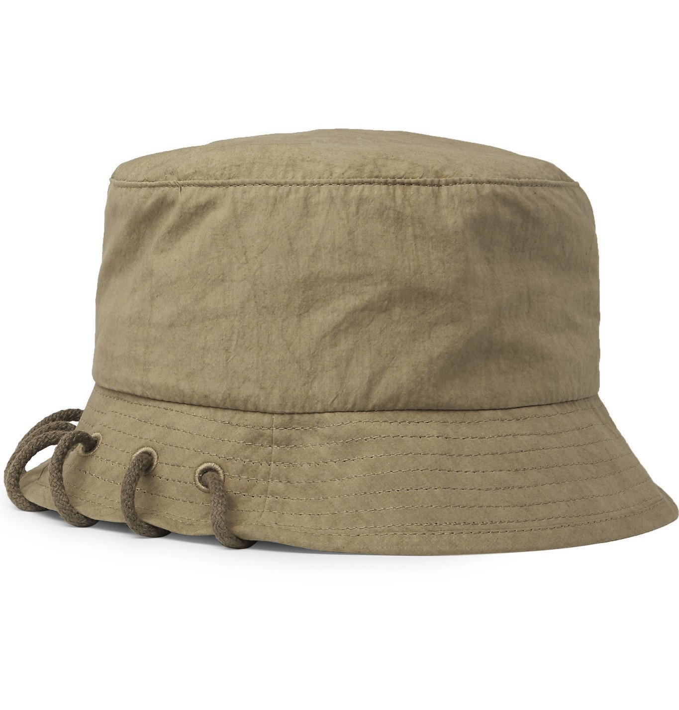 Photo: Craig Green - Laced Cotton Bucket Hat - Green