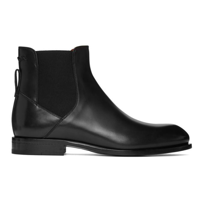 Photo: Ermenegildo Zegna Black Stitch Chelsea Boots