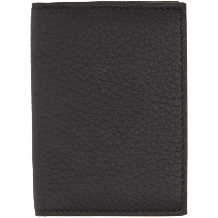 Photo: Éditions M.R  Black Leather Card Holder
