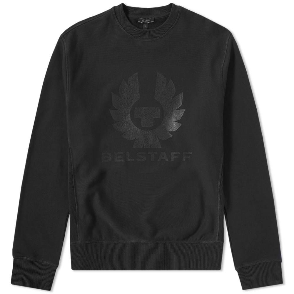 Belstaff Holmswood Logo Crew Sweat Black