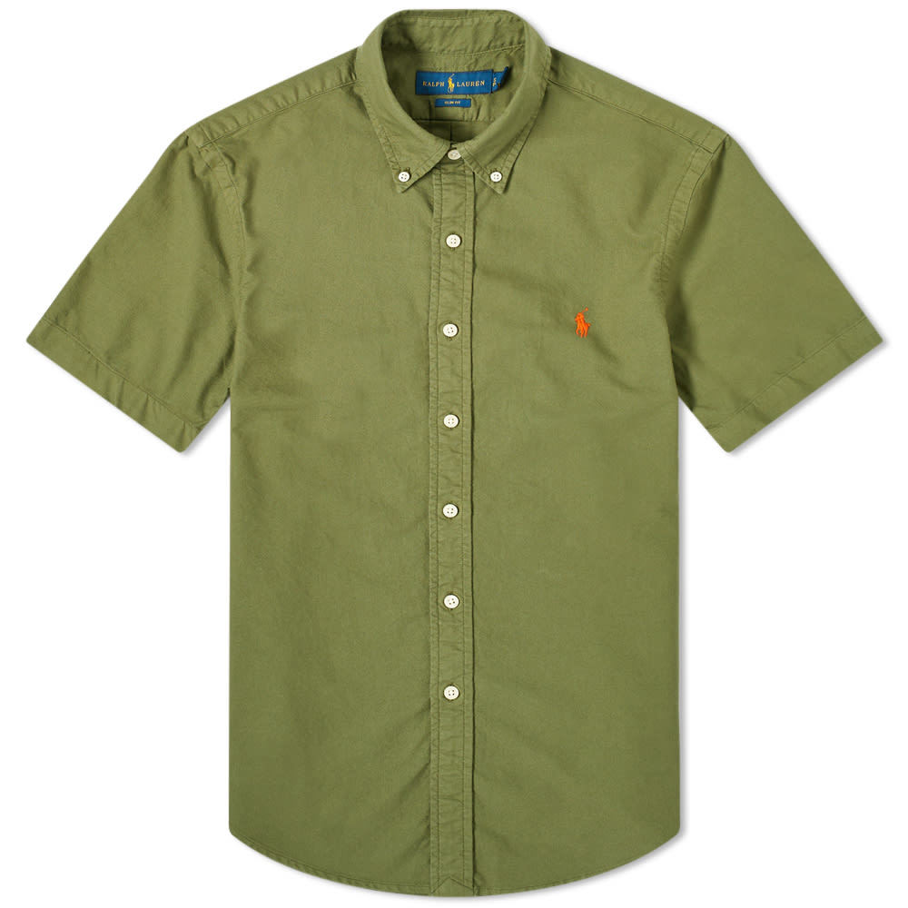 Photo: Polo Ralph Lauren Garment Dyed Button Down Oxford Shirt