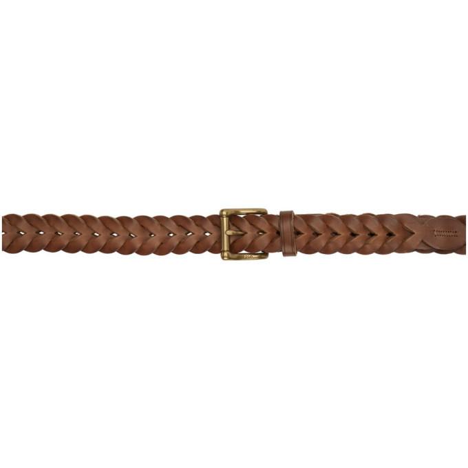 Photo: Polo Ralph Lauren Tan Braided Belt