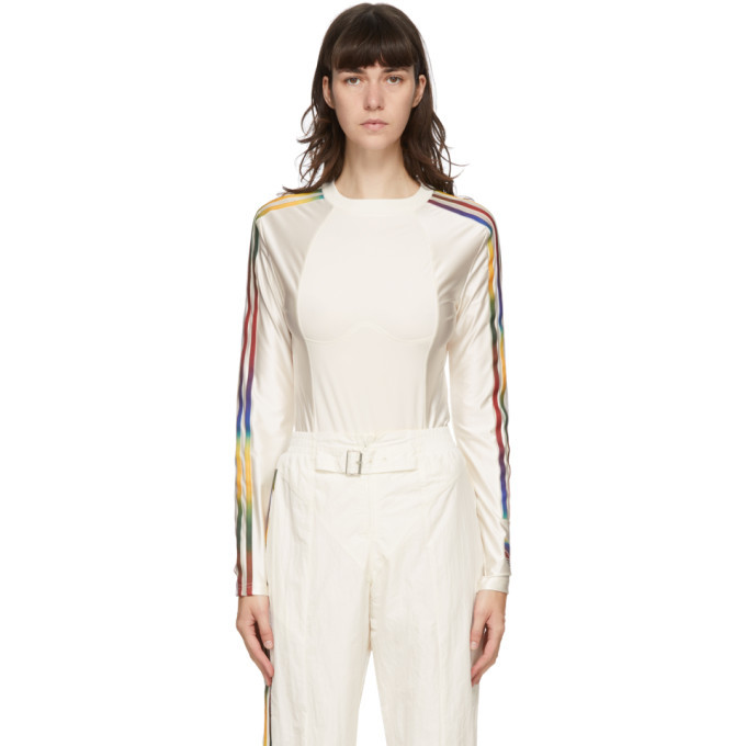 Photo: adidas Originals Off-White Paolina Russo Edition Satin Bodysuit