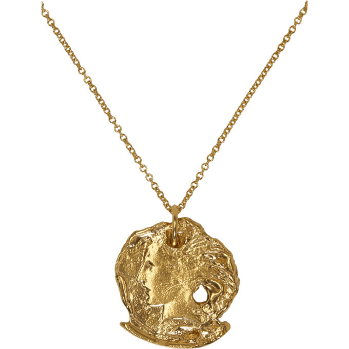 Alighieri Gold The Forgotten Memory Necklace