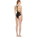 Stella McCartney Black Stellawear Racerback One-Piece Swimsuit