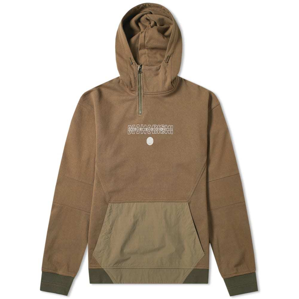 Photo: Maharishi Ghost Dragon Tech Popover Hoody