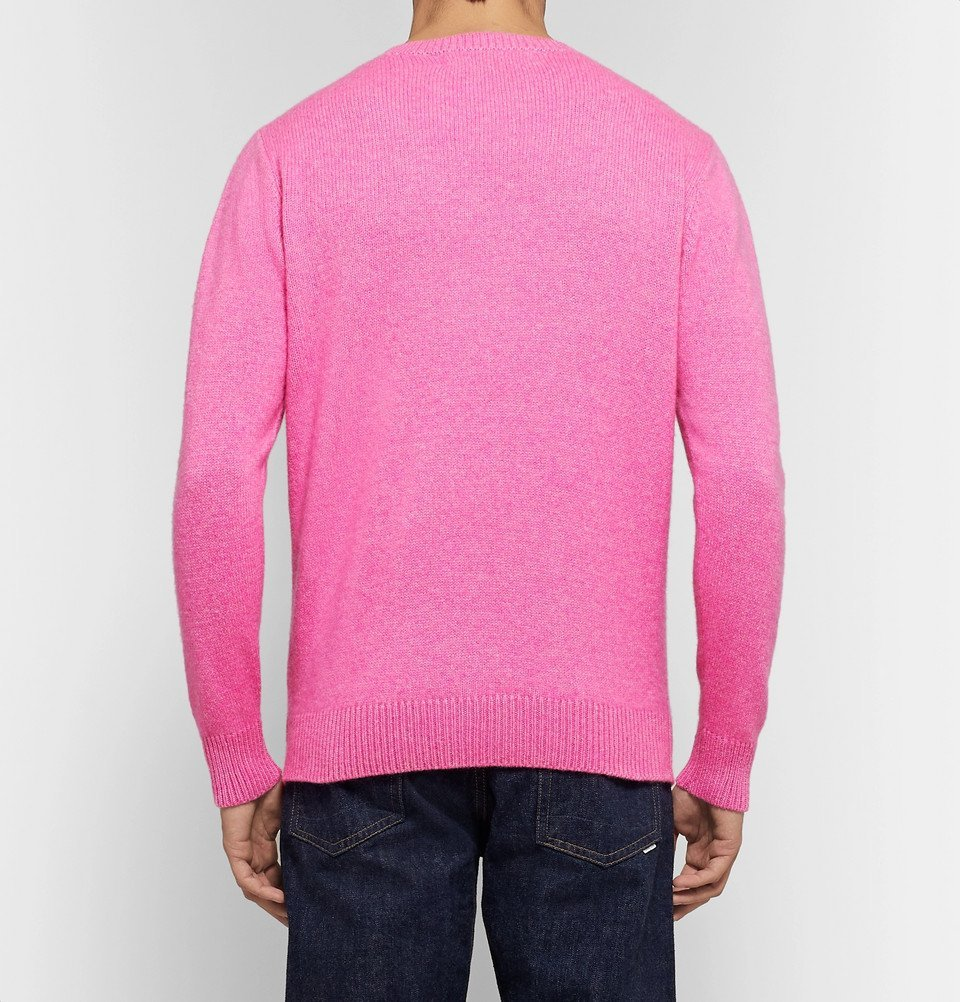 The Elder Statesman - Cashmere Sweater - Pink