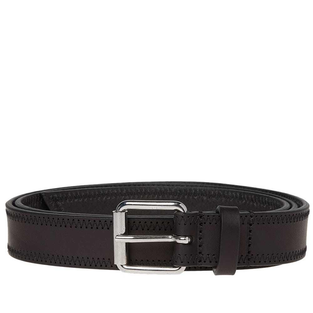 Photo: Comme des Garcons SHIRT Stitch Detail Belt