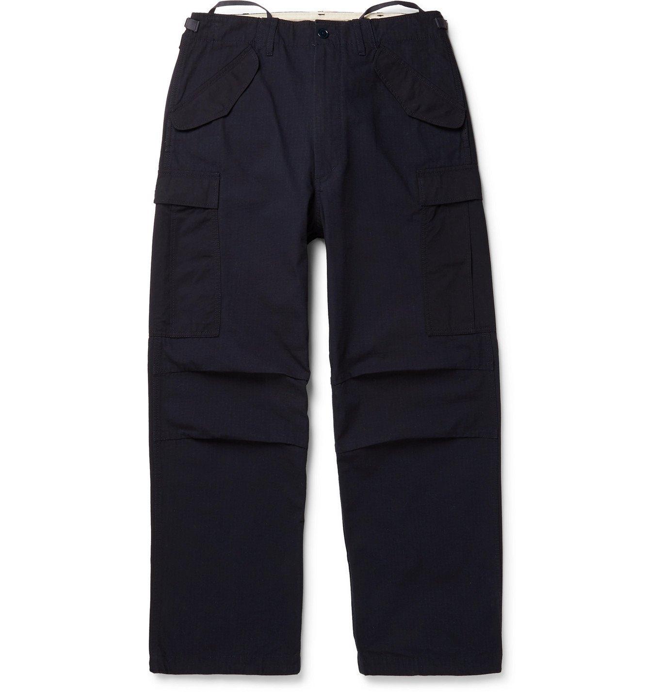 Photo: nanamica - CORDURA Ripstop Cargo Pants - Blue