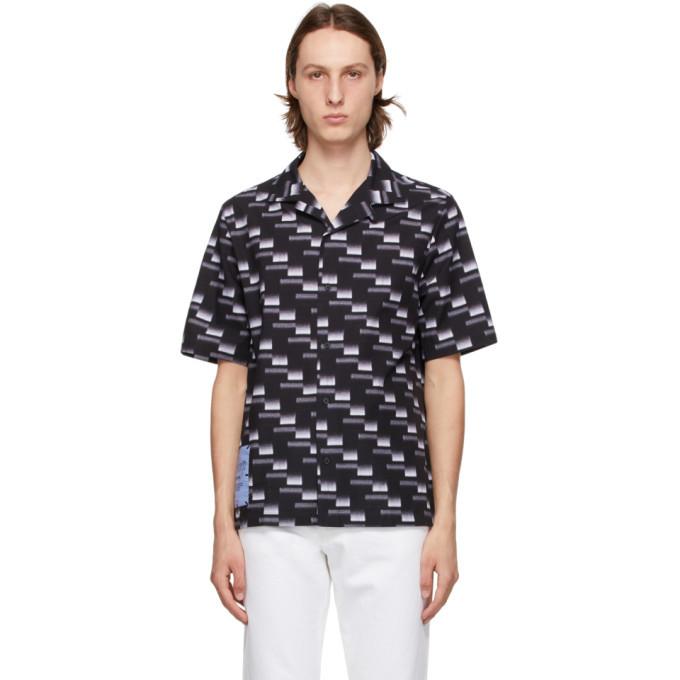 MCQ Black Yoke Casual Shirt