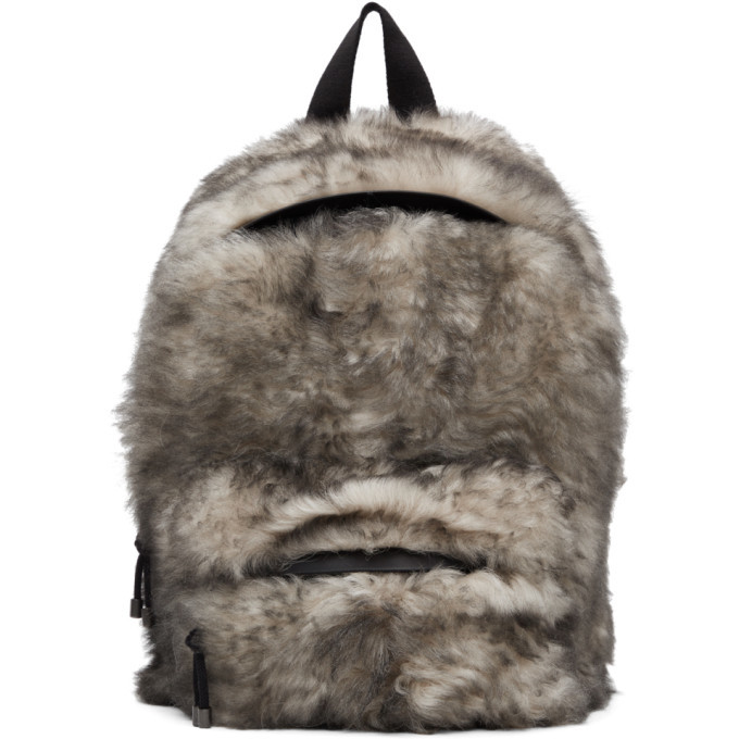 Photo: VETEMENTS White Lambskin Backpack