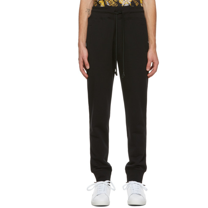 Photo: Versace Jeans Couture Black Pocket Logo Lounge Pants