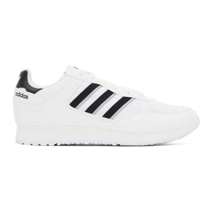 adidas Originals White and Black Special 1 Sneakers