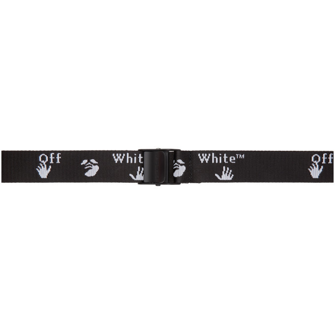 Photo: Off-White Black and White 2.0 Industrial Belt