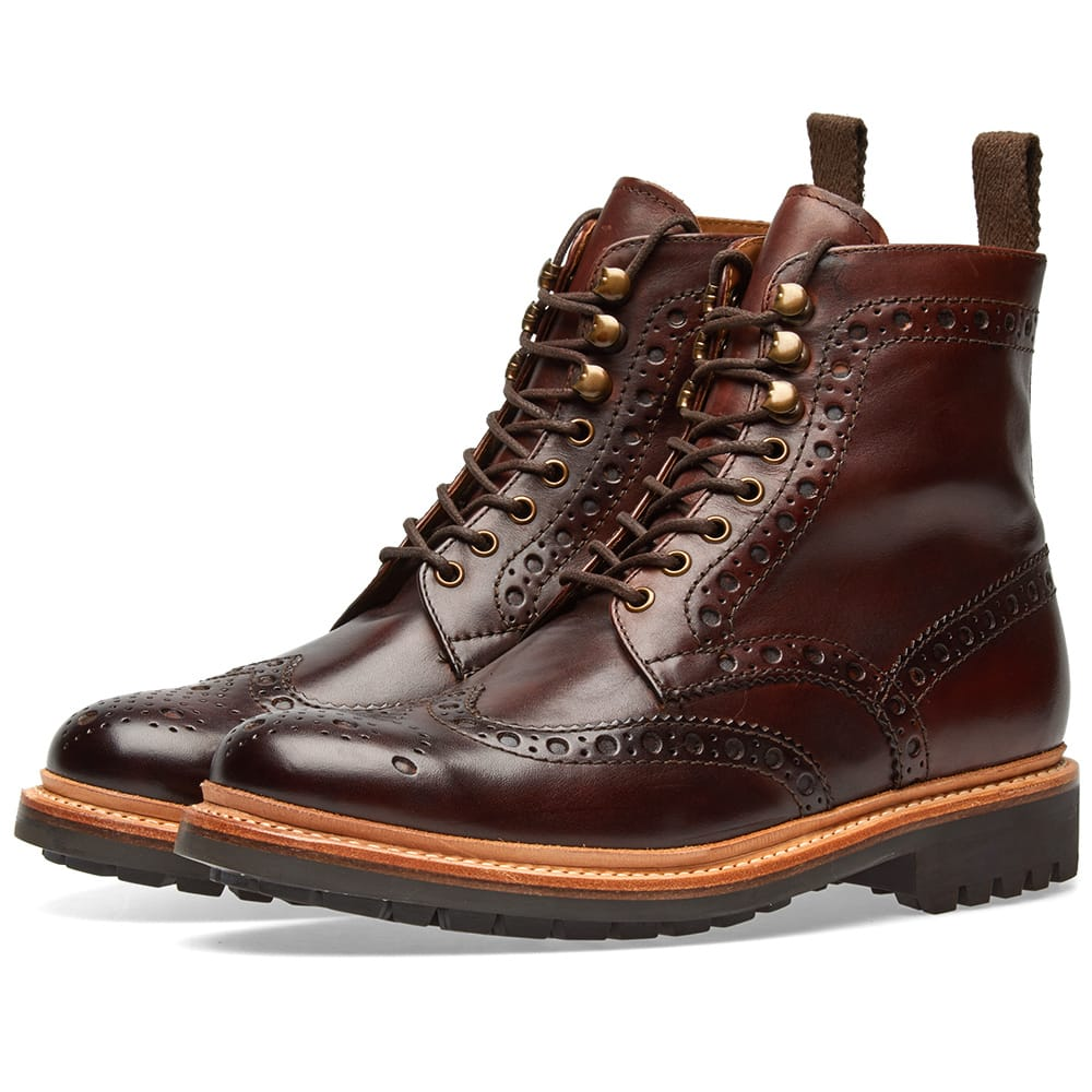 Photo: Grenson Fred Commando Sole Brogue Boot