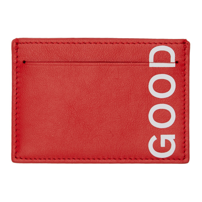 Photo: PS by Paul Smith Red Good Card Holder