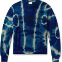 Aries - Tie-Dyed Wool-Jacquard Sweater - Blue