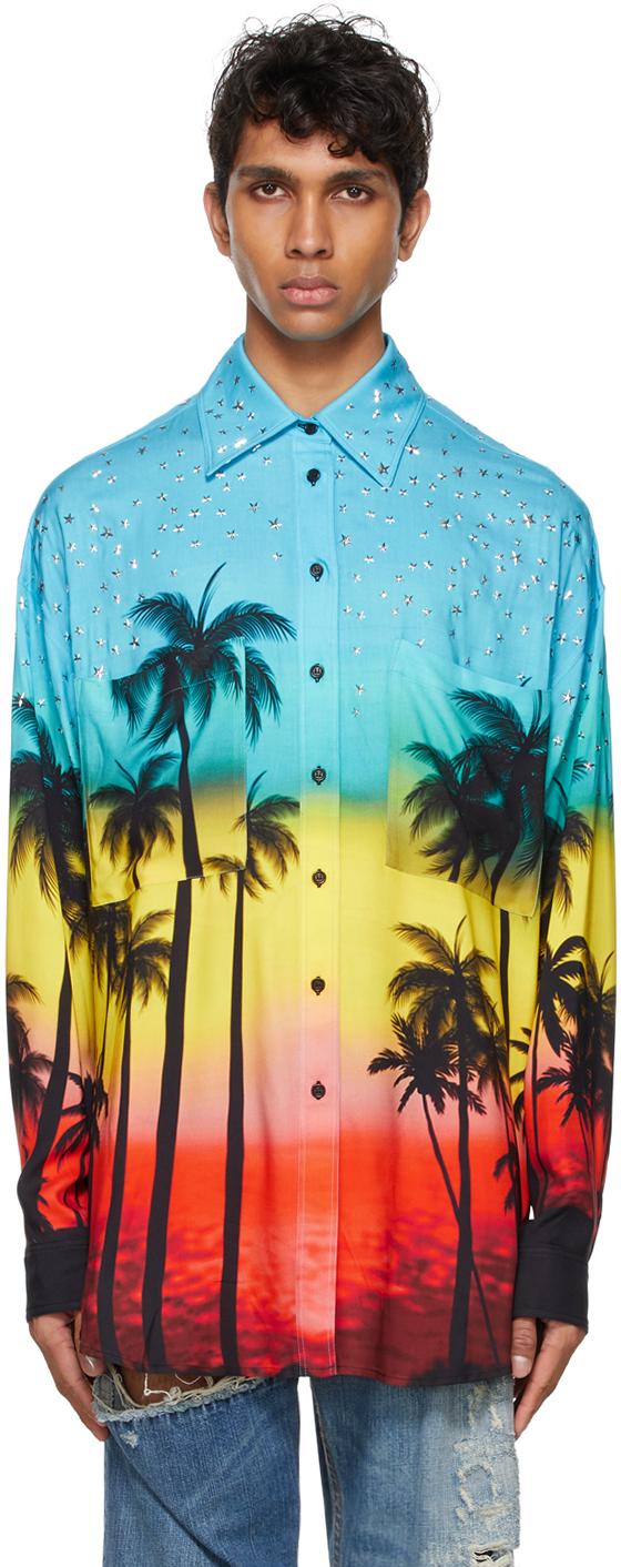 Photo: Faith Connexion Multicolor Viscose Printed Shirt
