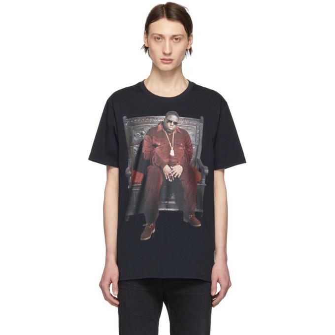 Photo: R13 Black Biggie Throne Curtis T-Shirt