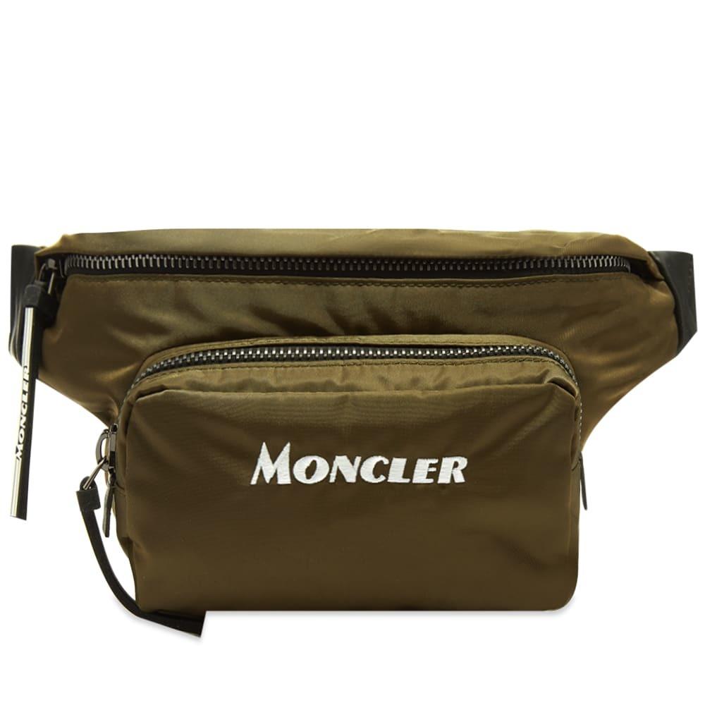 Photo: Moncler Durance Logo Belt Bag