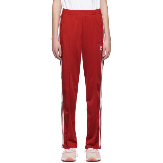 adidas Originals Red Firebird Track Pants