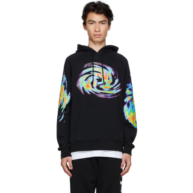 Photo: Etudes Black Heat Map Racing Hoodie