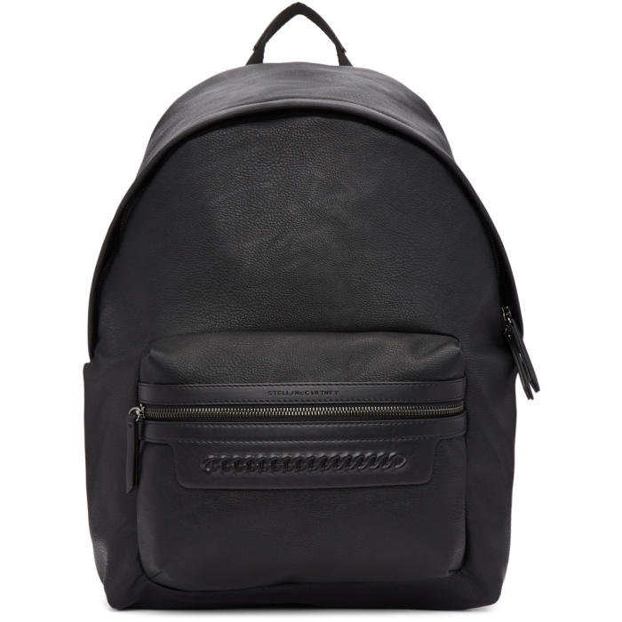 Photo: Stella McCartney Black Falabella Backpack