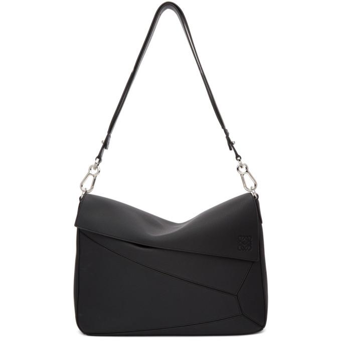 Photo: Loewe Black XL Puzzle Messenger Bag