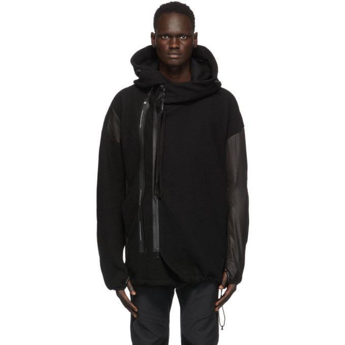 Photo: Julius Black Fleece Hooded Jacket