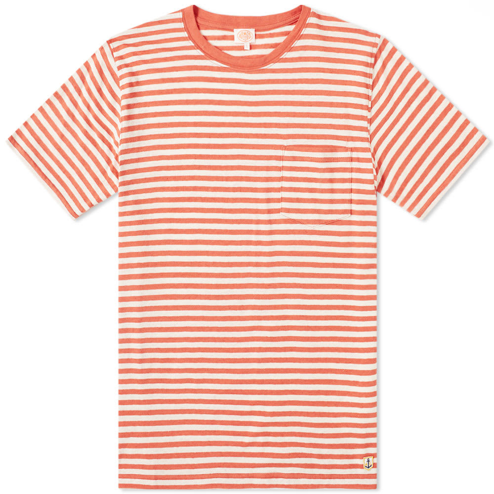 Photo: Armor-Lux 76023 Stripe Pocket Tee