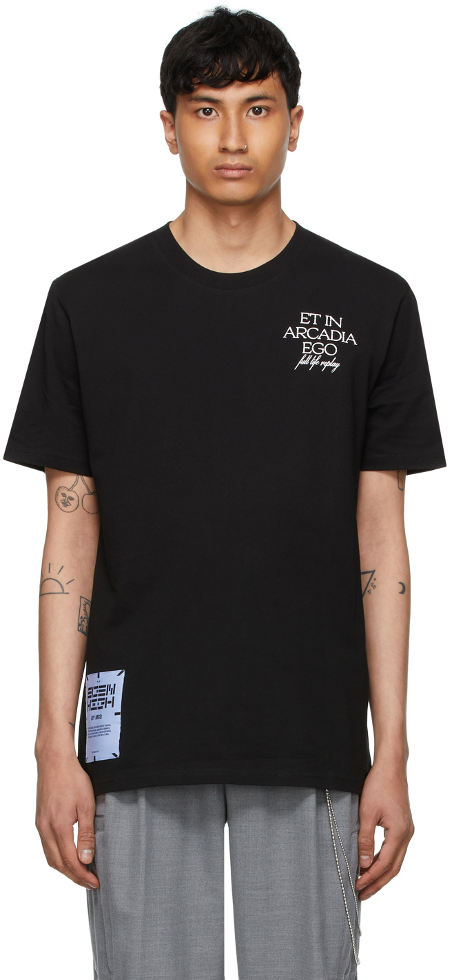 MCQ Black 'Game Over' T-Shirt
