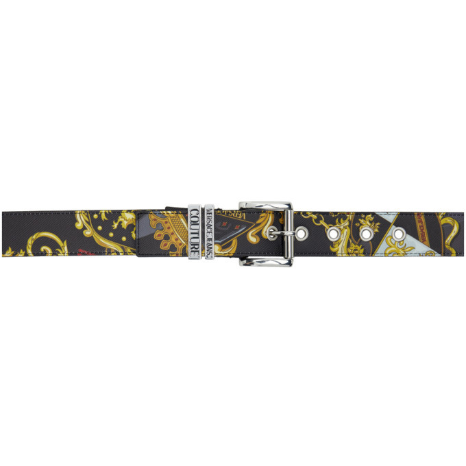 Photo: Versace Jeans Couture Black Shields Belt