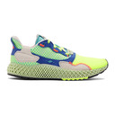 adidas Originals Yellow and Green ZX 4000 4D Sneakers