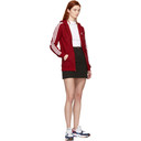 adidas Originals Red 3-Stripes FZ Hoodie