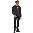 Ksubi Black Denim Classic Black Tar Jacket