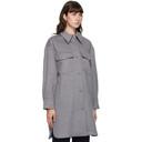 Stella McCartney Grey Wool Kerry Coat