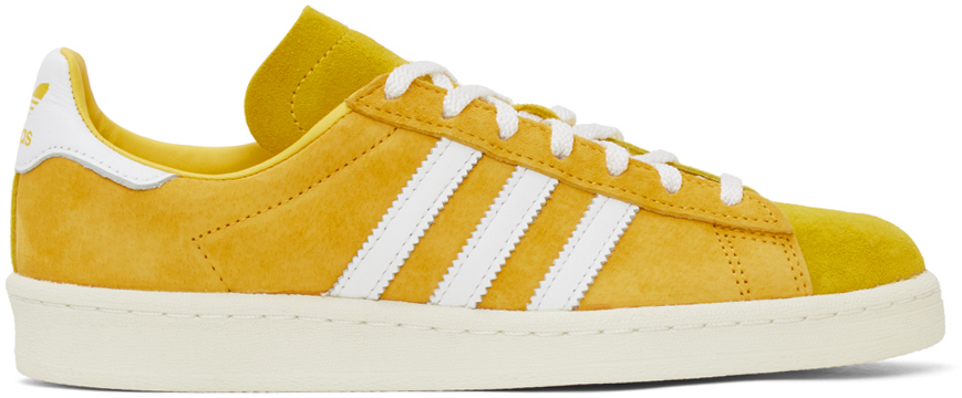 Photo: adidas Originals Yellow Campus 80s Sneakers
