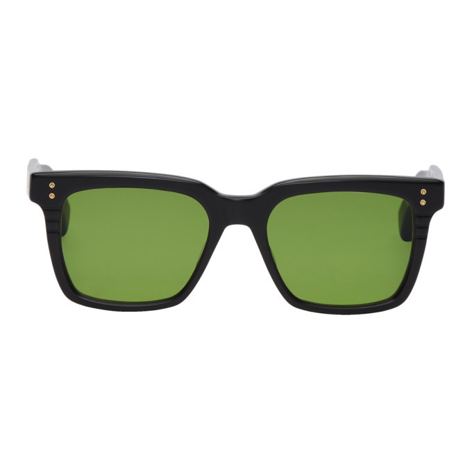 Photo: Dita Black and Green Sequoia Sunglasses