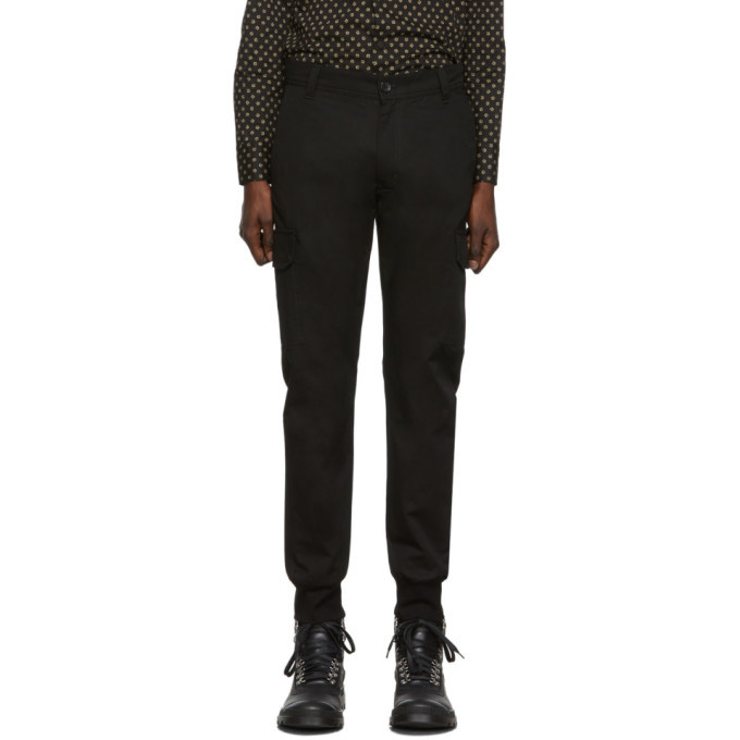 Photo: PS by Paul Smith Black Military Jogger Trousers