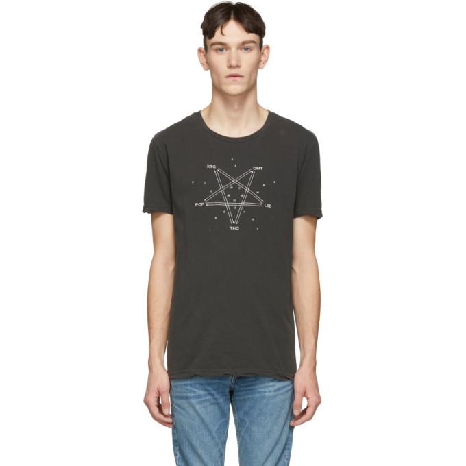 Ksubi Black The Symbol T-Shirt