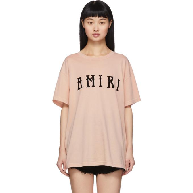 Photo: Amiri Pink Hippie T-Shirt