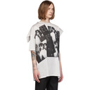 Raf Simons Grey Displaced Sleeve T-Shirt