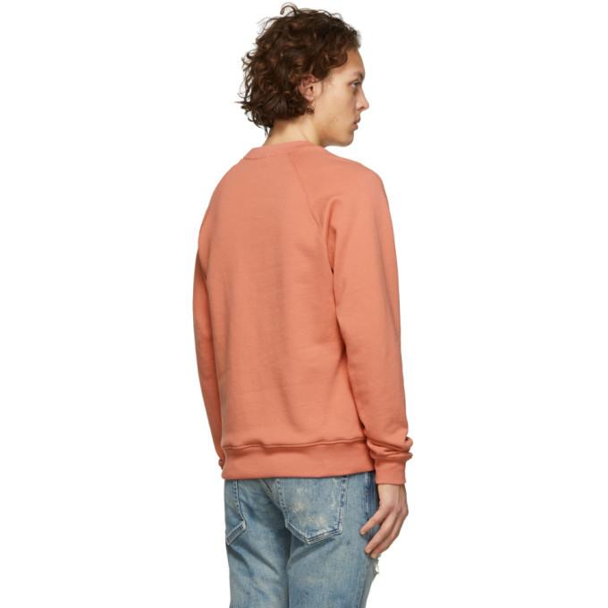 John Elliott Pink Raglan Sweatshirt