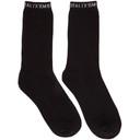 1017 ALYX 9SM Three-Pack Black Cotton Socks