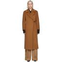 Max Mara Tan Camel Piroghe Coat