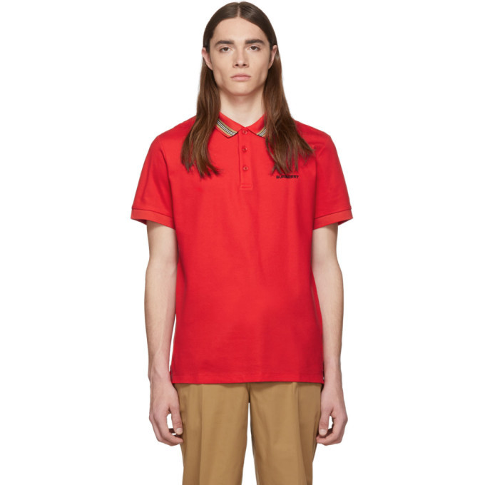 Photo: Burberry Red Johnston Polo