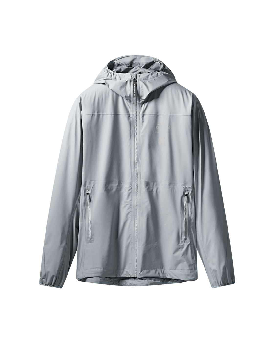 Photo: Adidas Originals Adidas X Undefeated Goretex Jacket Clear Onix/Black