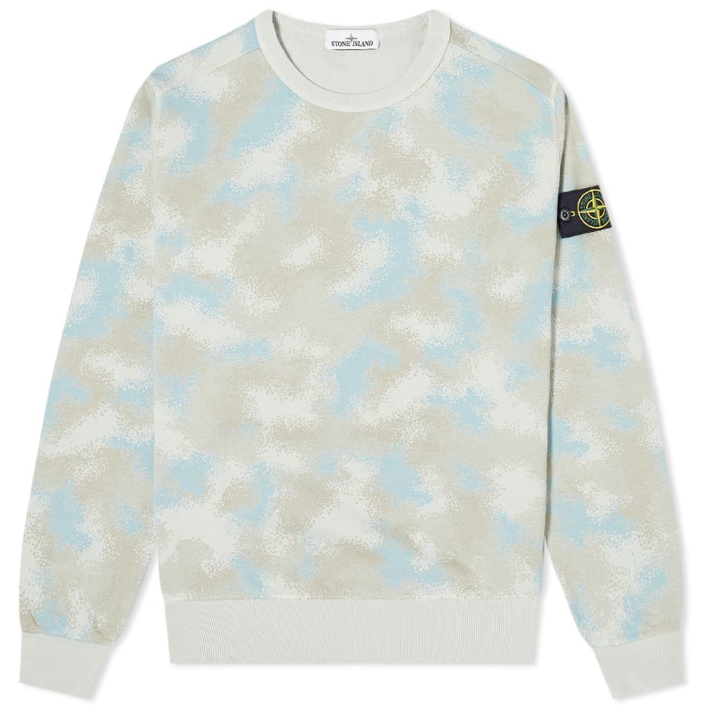 Photo: Stone Island Camo Devore Sweat