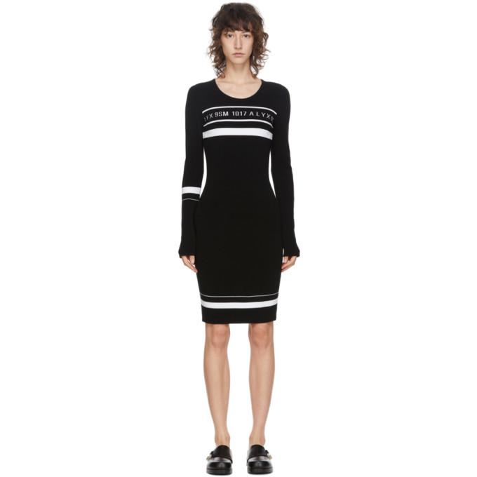 Photo: 1017 ALYX 9SM Black Knit Logo Dress